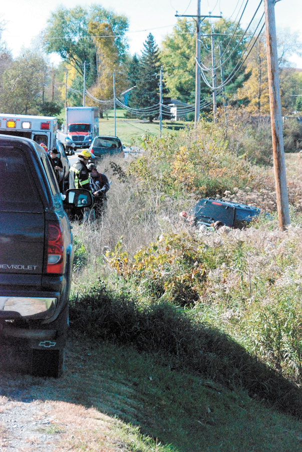 Route 149 crash sees minor injuries