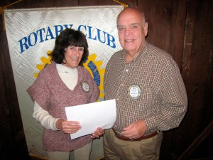 Ken Littlewood earns top Rotary Club honor