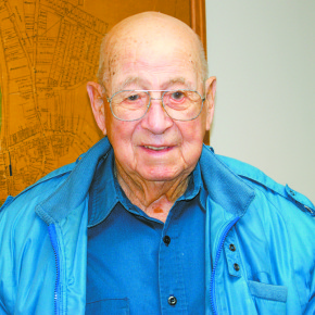 96-year-old Otis Town served as an Army engineer in the Pacific Theatre during World War II.