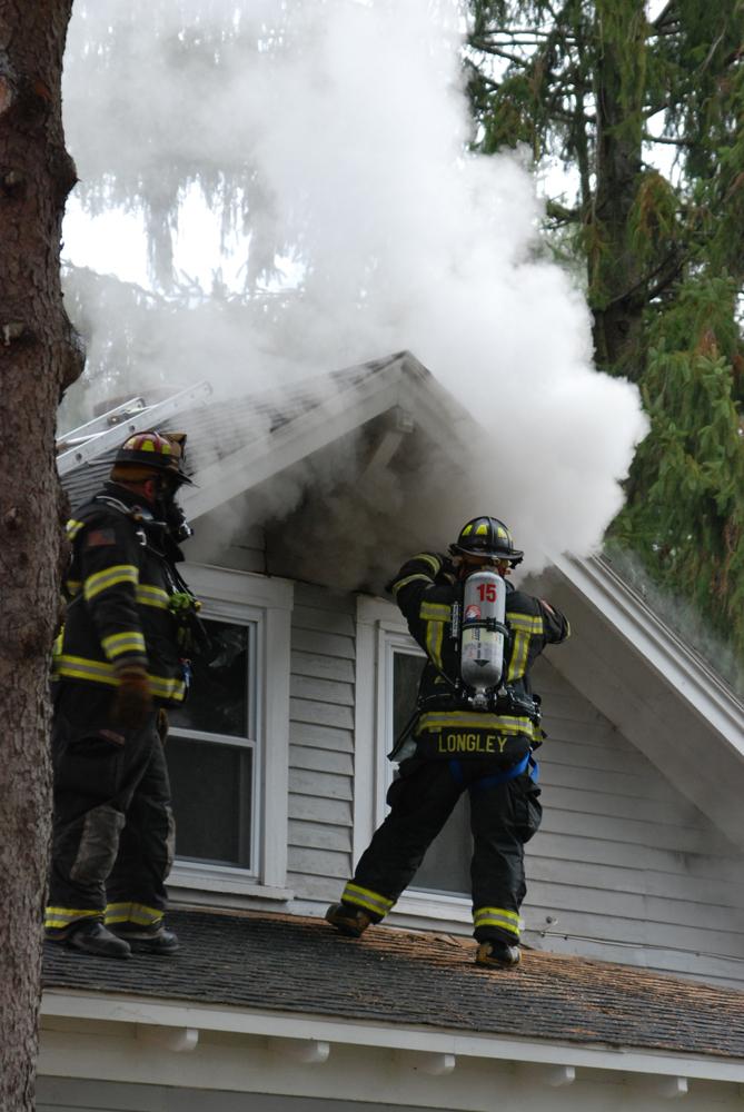 Close Call in East Quaker Fire