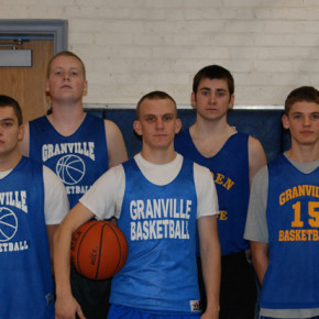 The 2010-2011 boys basketball team