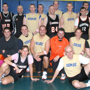 Coaches, faculty and staff from Cambridge and Granville came together to raise about $800 in the first-ever game. They're heading to Fort Ann this time for a Dec. 20, 7 p.m. game.