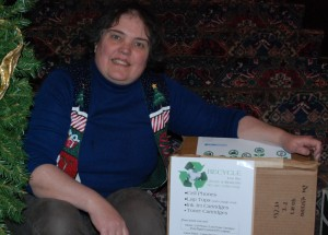 Pember hopes to raise funds by recycling