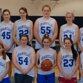 The 2010-2011 Granville Golden Horde girls basketball team. Dec. 1, 2010