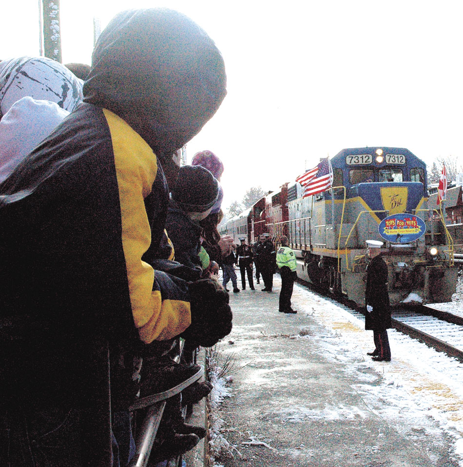 Toys For Tots Train comes Sunday