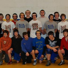 The 2010-2011 Granville Golden Horde wrestlers