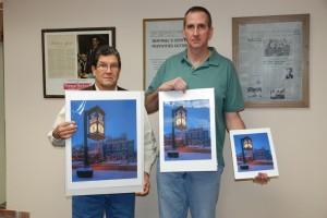 Veterans Memorial Clock photos available