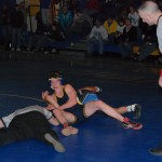 Steven Cohen nearly pulls off the upset as he gets Peabody of Hoosick Falls to his back late in thier match. Cohen placed second losing a decision.
