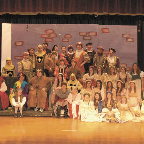 "The Cast of ""Once Upon A Mattress"""
