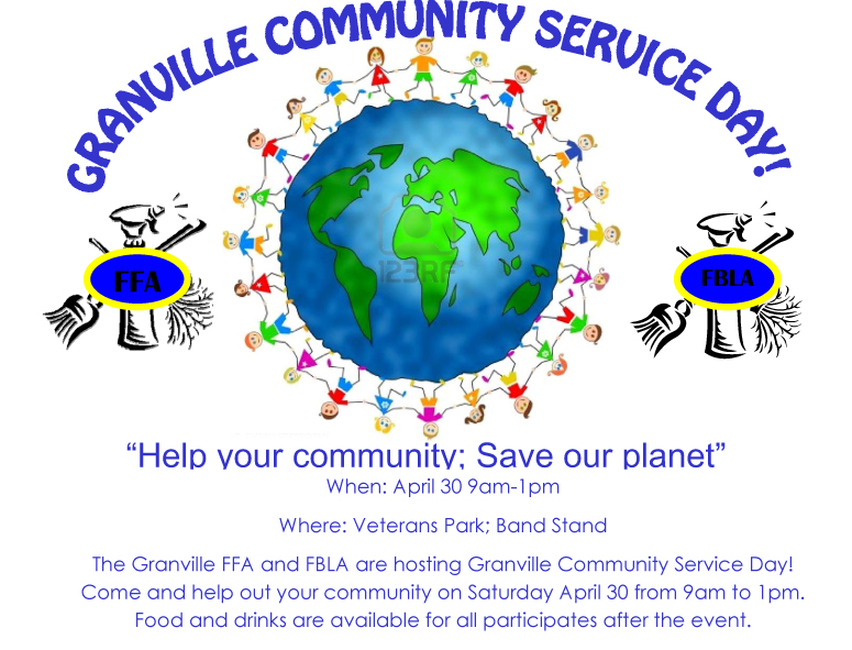Community Service Day planned