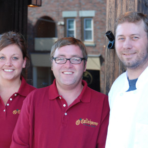 manager Lindsey Michaelsen, owner DJ Boone and chef Fred Williams.