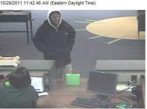 TD Bank robbed again Saturday morning