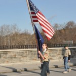 parade flag kid scout web