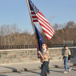 parade flag kid scout web