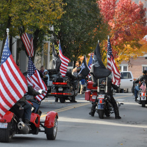 parade legion riders w leaves web