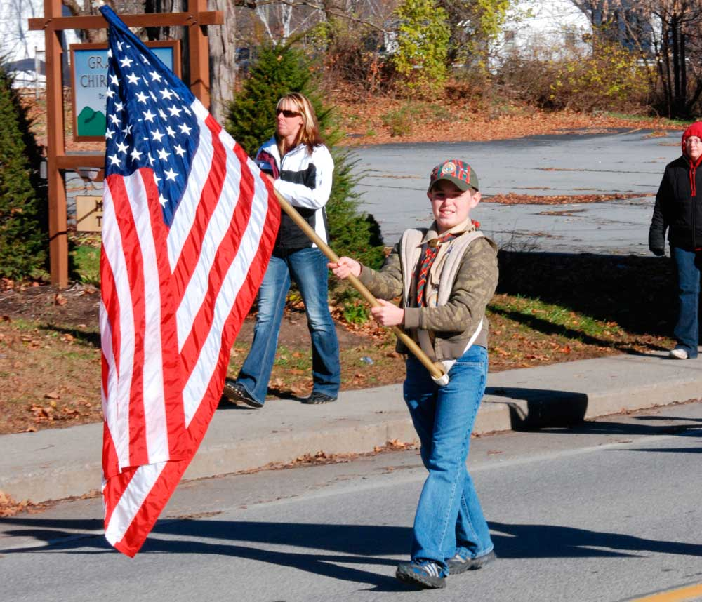 Veterans Day Parade steps off at 10 a.m.
