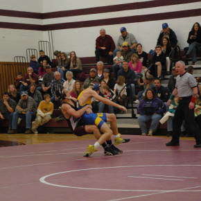 Jake Gregory takedown