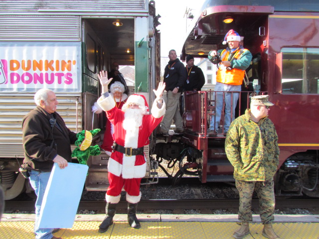 Train Toys For Tots : Toys for tots comes to town sunday manchester newspapers