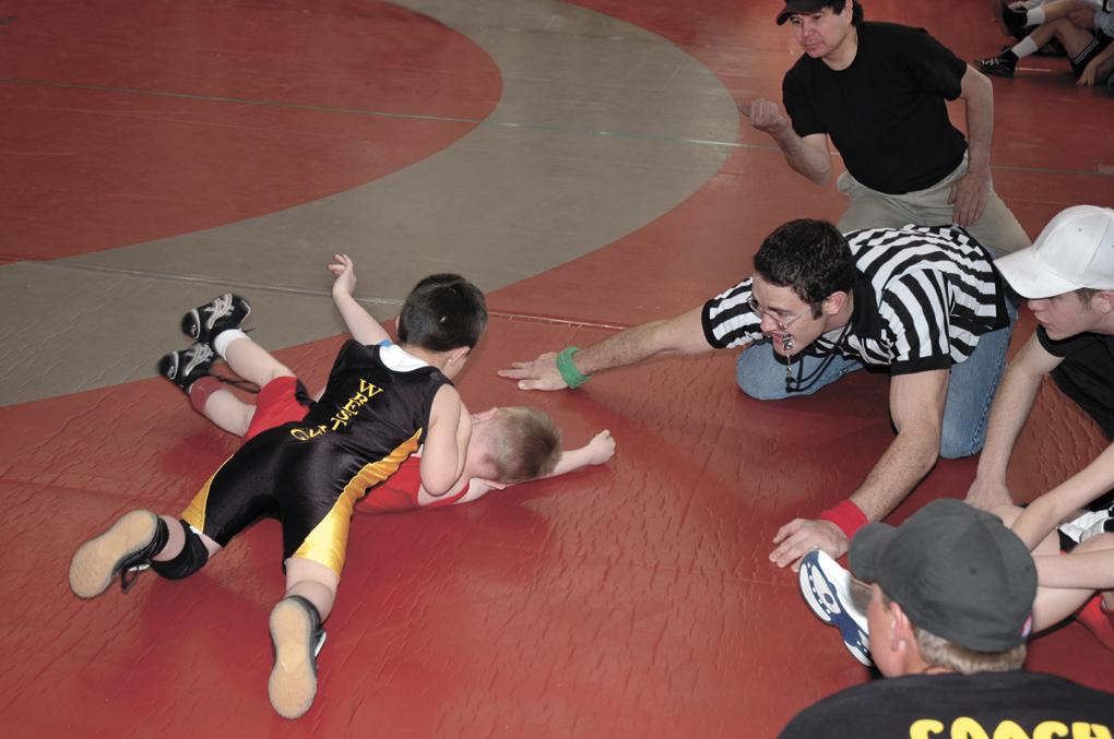 Pee Wee wrestling starts Monday