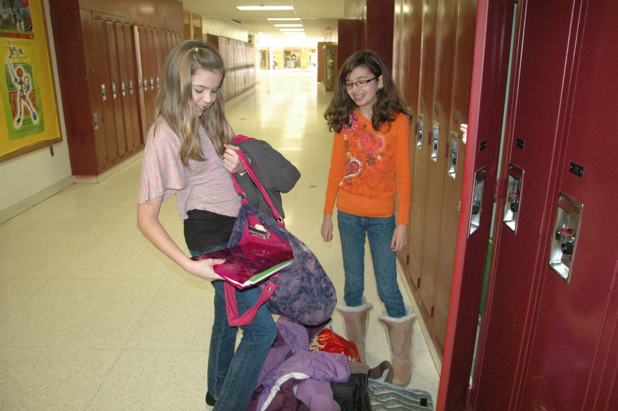 Shadow for a day: Sixth-graders get a look at life in grade 7
