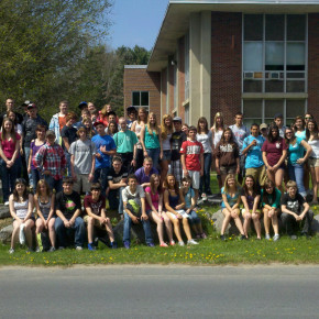 Class of 2015 trip to SUNY ADK 042012