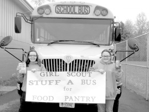 Girl Scouts to host Stuff a Bus Saturday