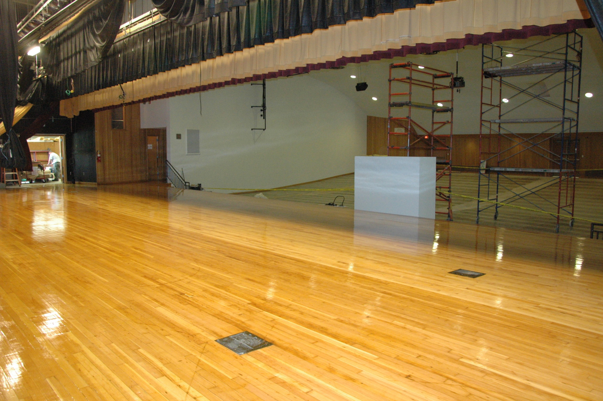 Auditorium renovations on target