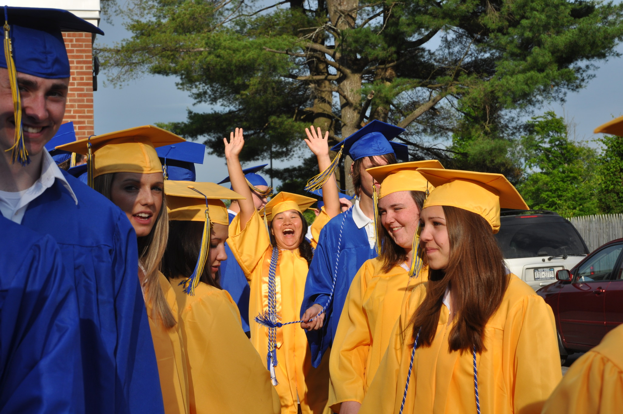 Granville grads struff their stuff