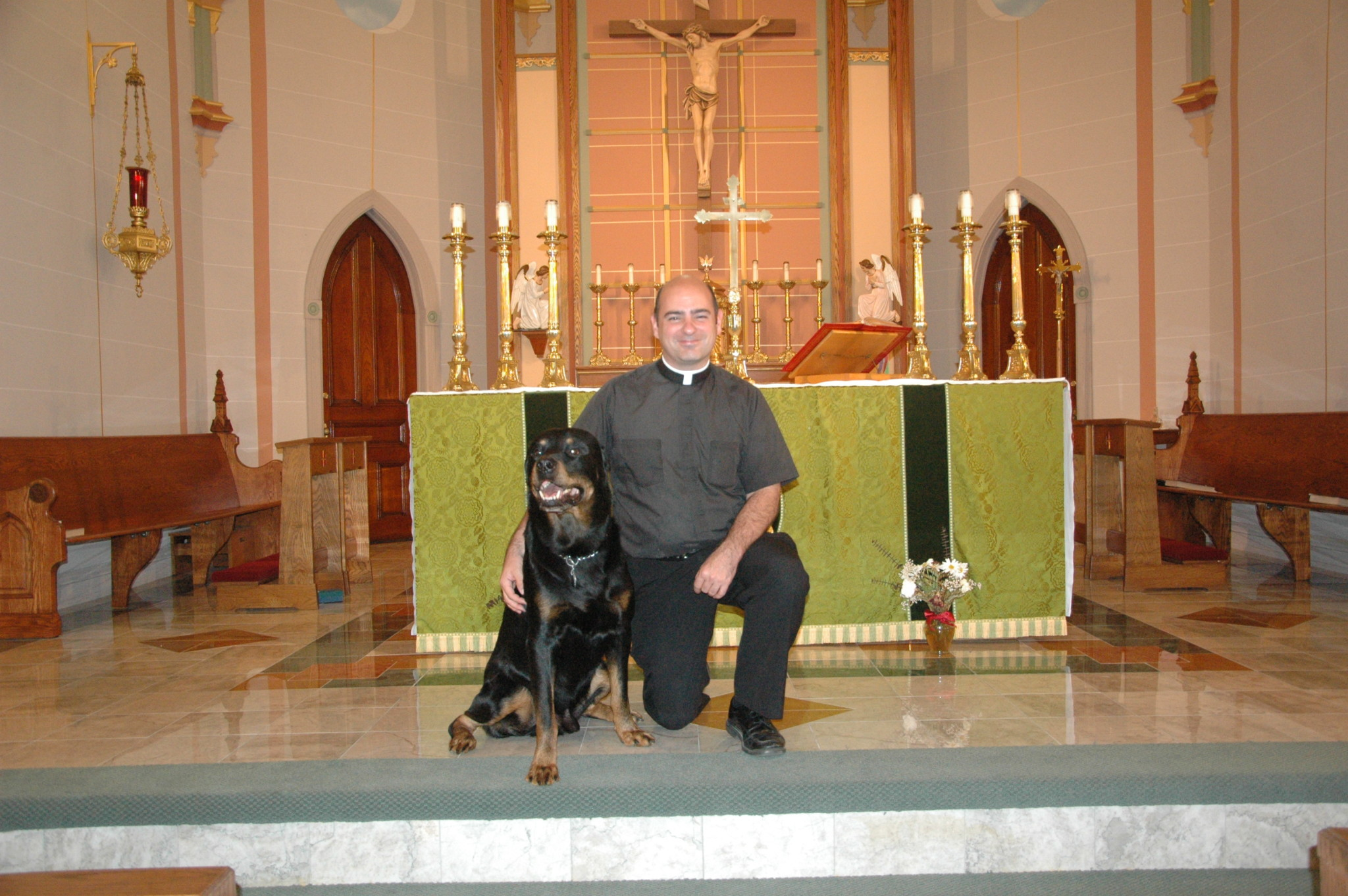 Priest leaving after 5 years: Father Flannery leaving for Greenville