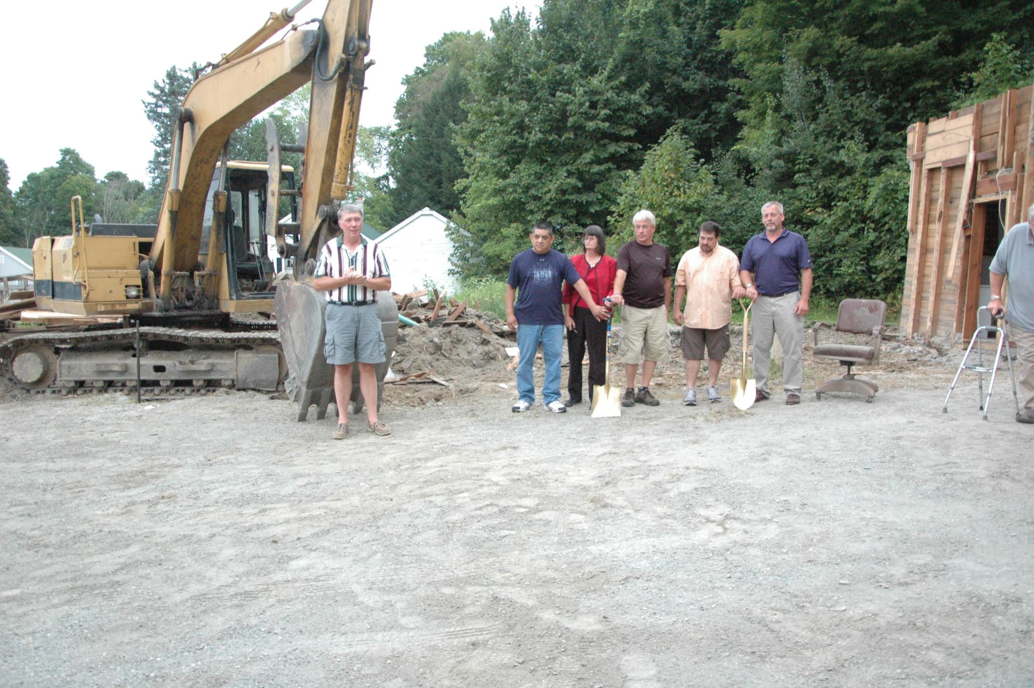 Hampton breaks ground on new town hall