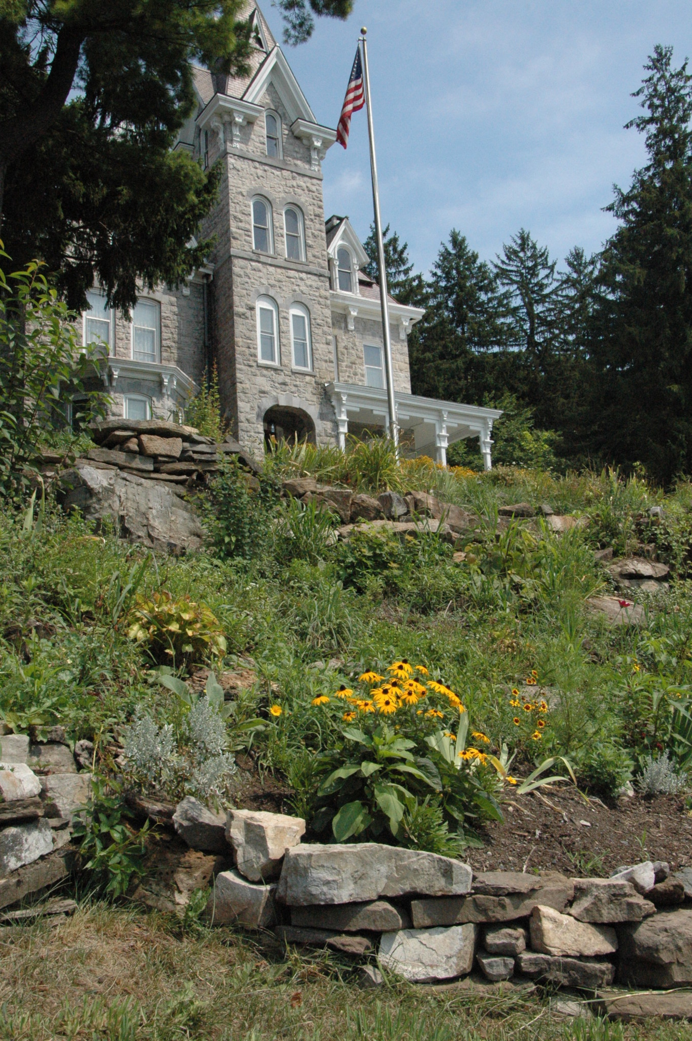 Woman creates new garden at Skene Manor