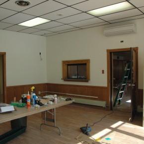 Town Hall renovations