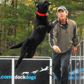 DOCK DOGS JEFF LEONARD AND CHESTER2