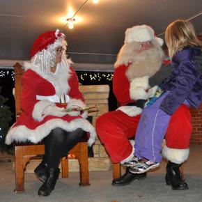 tree santa chat