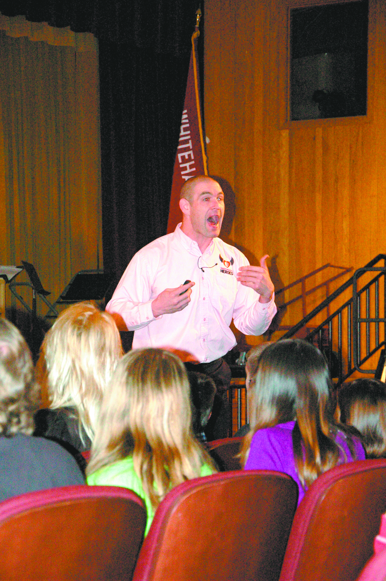 Students told to be sweethearts or heroes