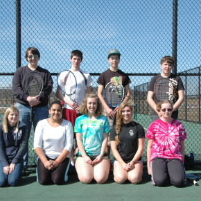 With only nine players, everyone on Whitehall's tennis team will see extensive court time.