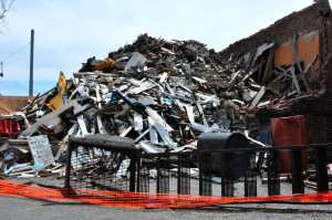 Village will soon say good-bye to fire pile