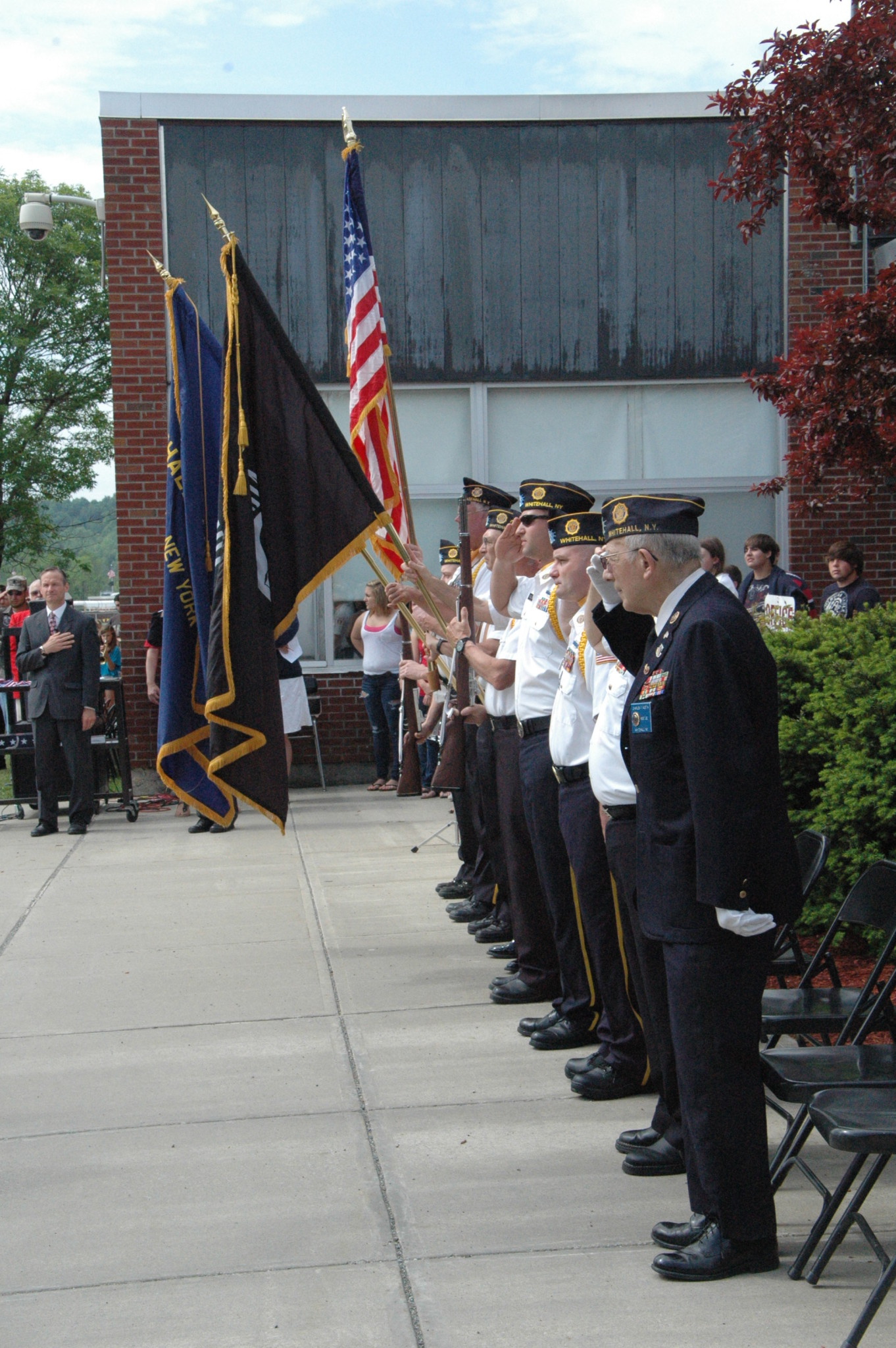 Local students, faculty observe Memorial Day