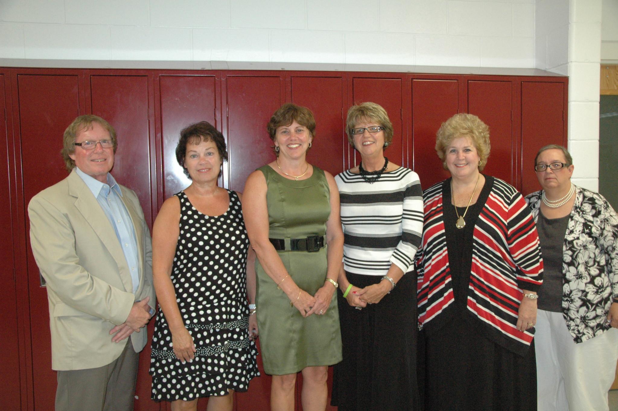 Longtime teachers recognized
