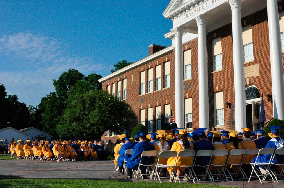 Speeches abound at Granville graduation
