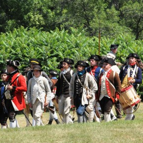 Fort Ti Fife and Drum muster