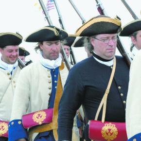 Fort Ticonderoga reenactment