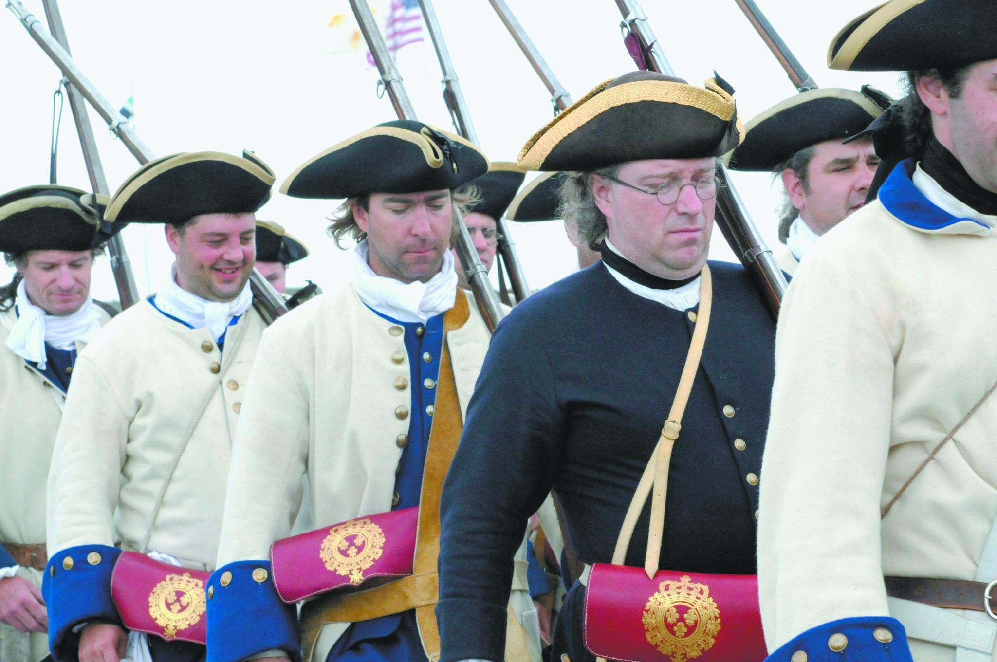 Fort Ticonderoga reenactment this weekend