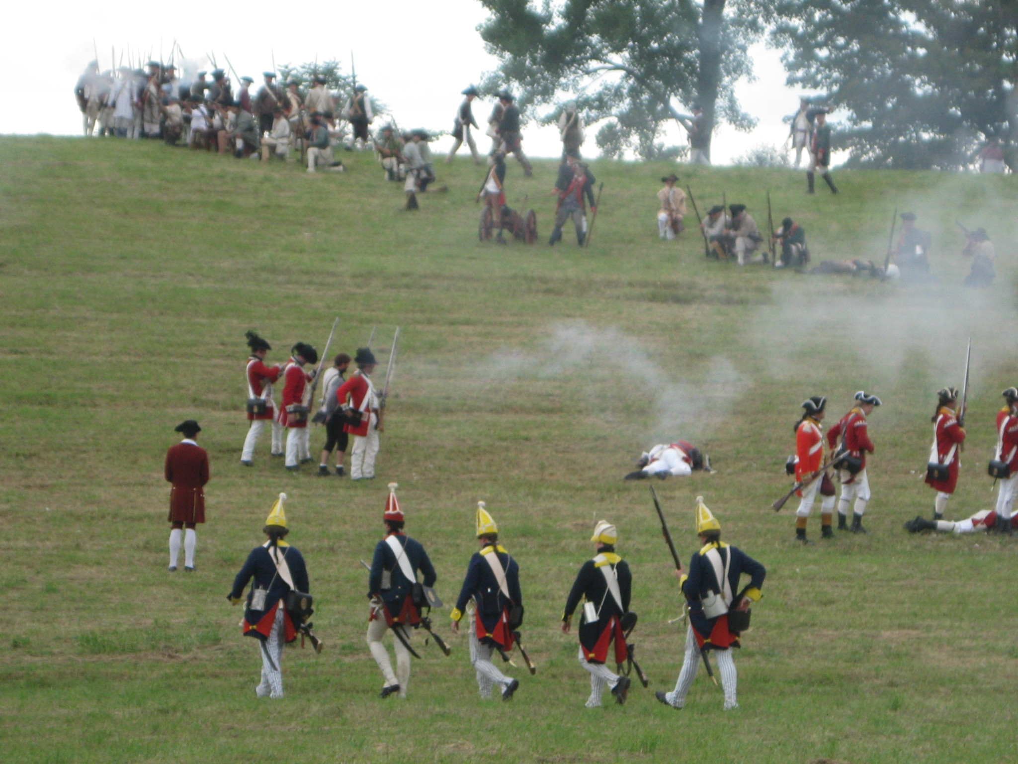 Hubbardton reenactment this weekend