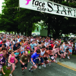FRONT VT race for cure