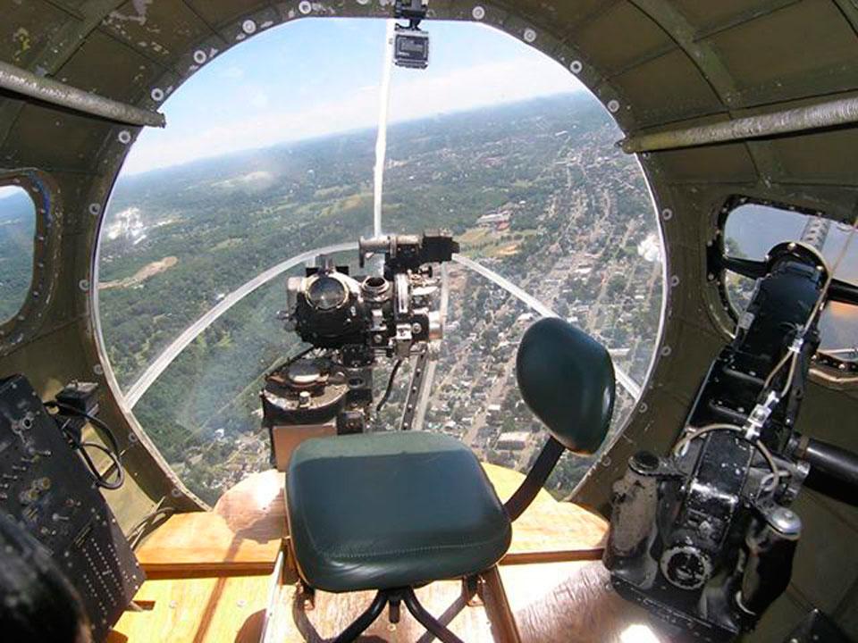 Flying high in the Memphis Belle