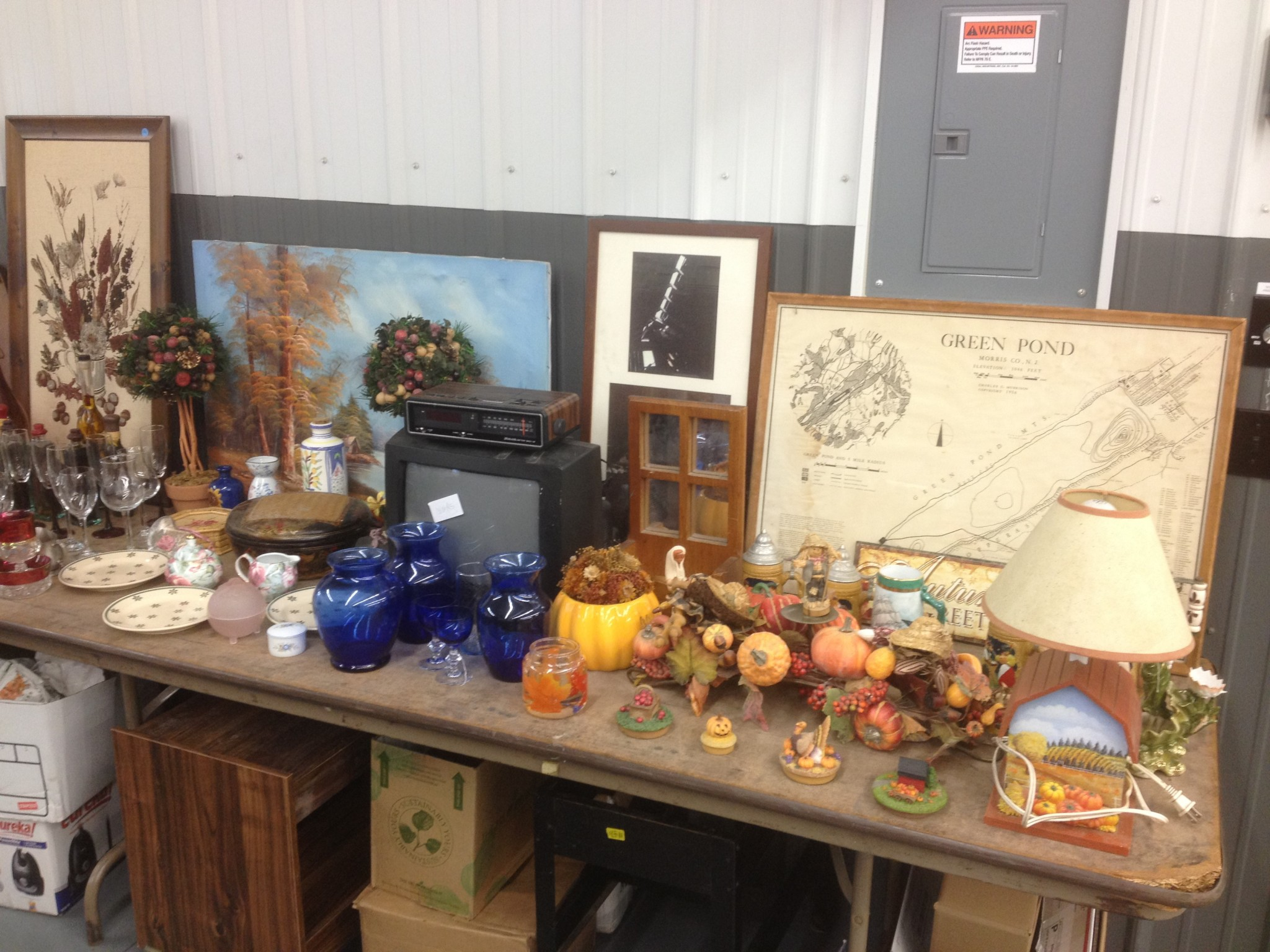 Eclectic auction benefits W. Pawlet VFD