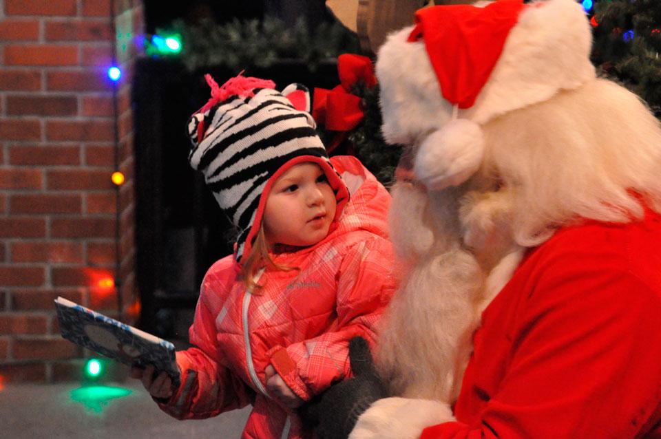 Village overflowed for Christmas in Granville