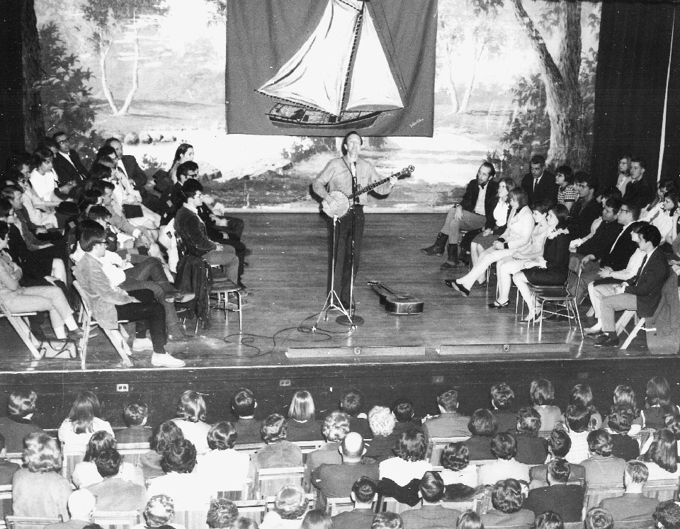 When Pete Seeger came to Granville