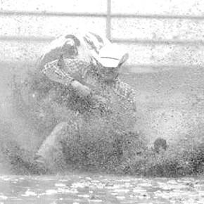 Greg Bennett Steer wrestling